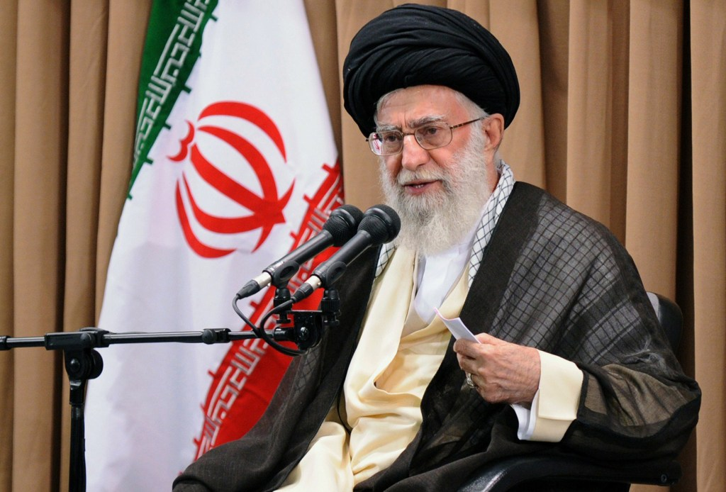 Image: IRAN-NUCLEAR-POLITICS-KHAMENEI