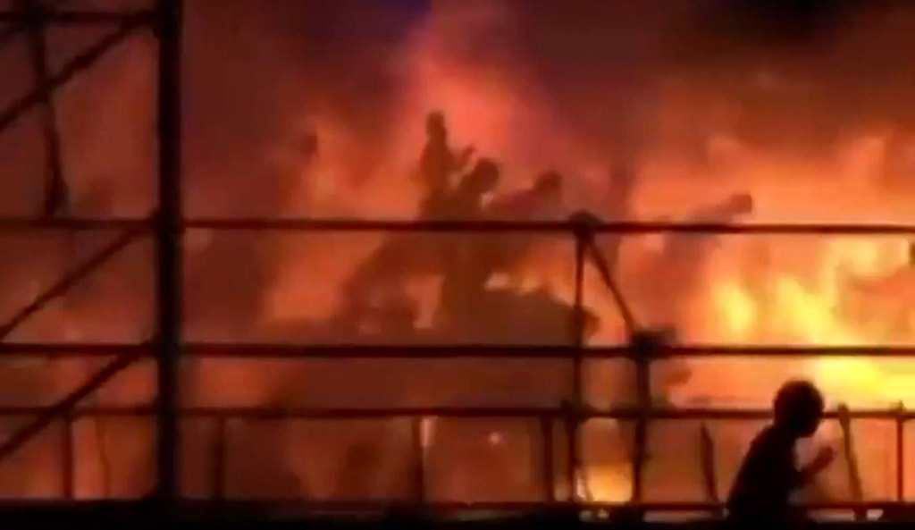 Image: TAIWAN-ACCIDENT-FIRE