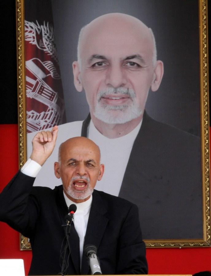 Image: President Ashraf Ghani on June 1