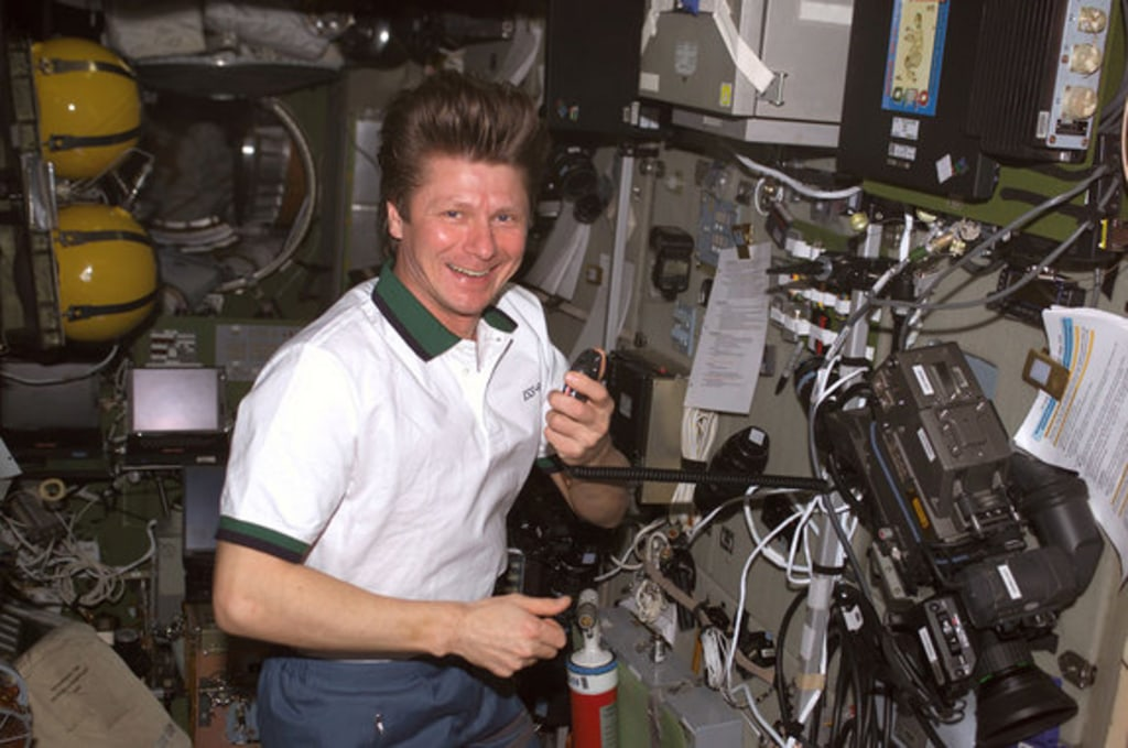 Image: Russian cosmonaut Gennady Padalka
