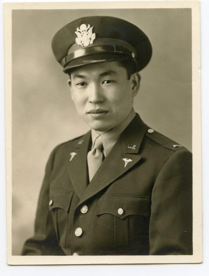 Image: Dr James Yamazaki in 1940