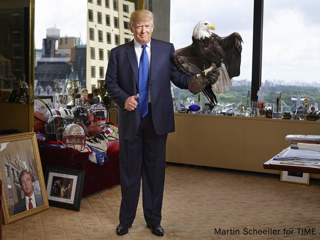 Image: Donald Trump photo for TIME magazine
