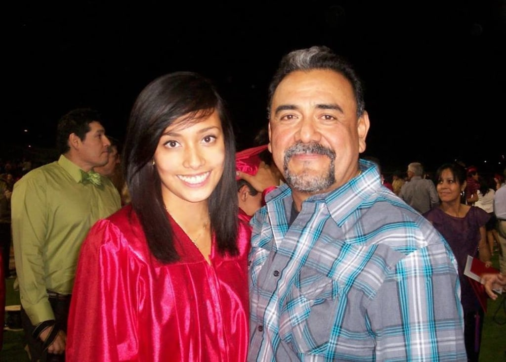 Image result for adrienne salinas father