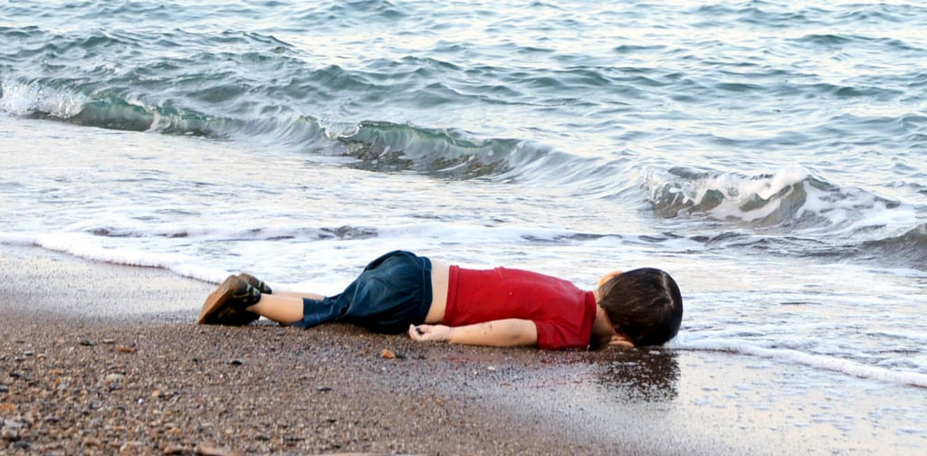 Image: A young migrant who drowned