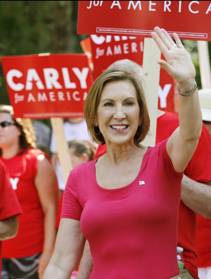 Image: Carly Fiorina on Sept. 7