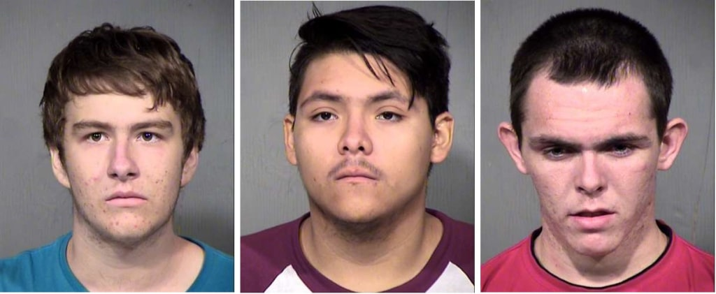 IMAGE: Phoenix-area slingshot attack suspects