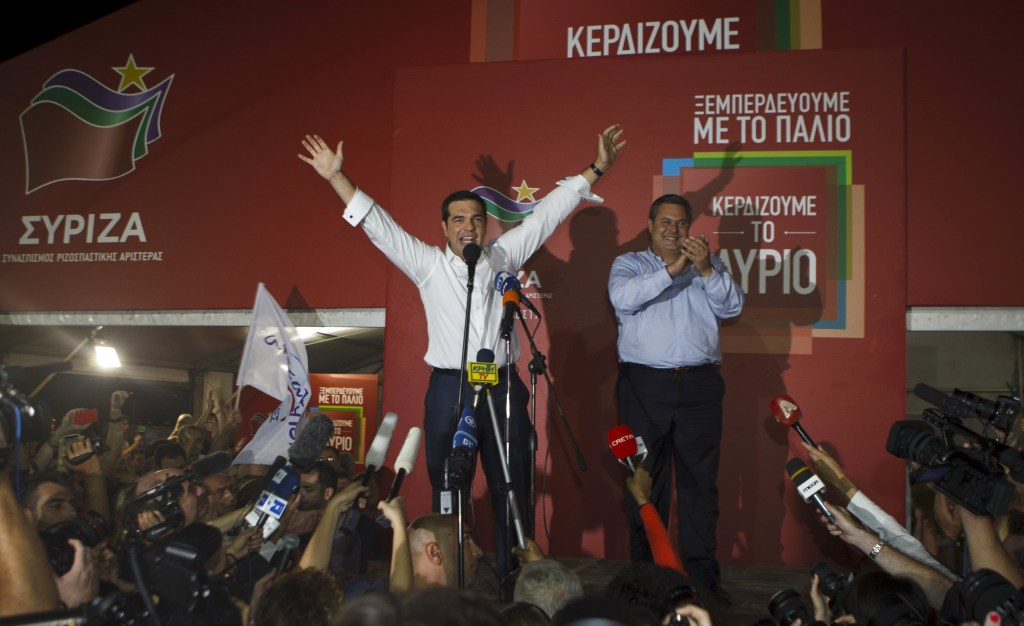 Greece's Ex-Prime Minister Alexis Tsipras Gets Second ...