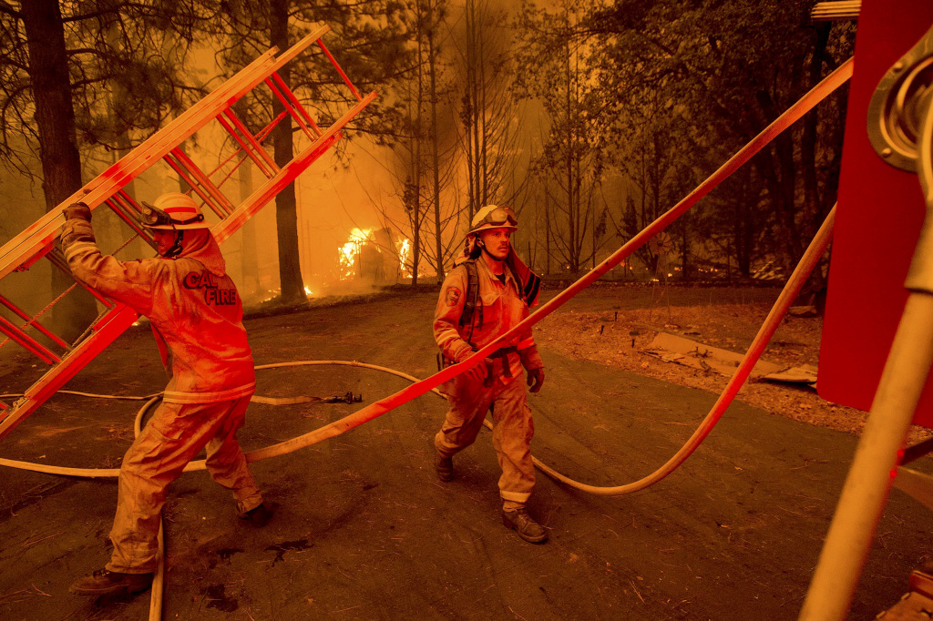 Image: Butte Fire rages