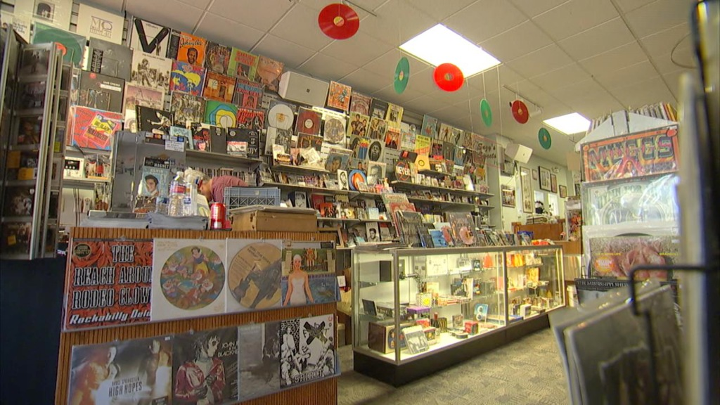 Image: Record Collector store in Bordentown, New Jersey