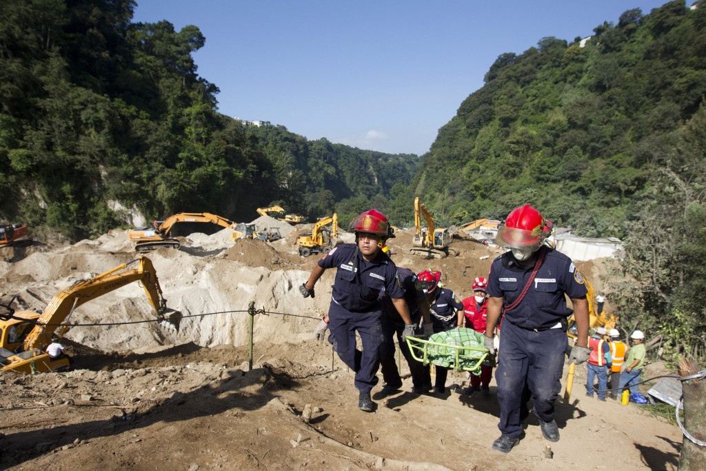Image: Death toll in Guatemala's landslide rises to 88
