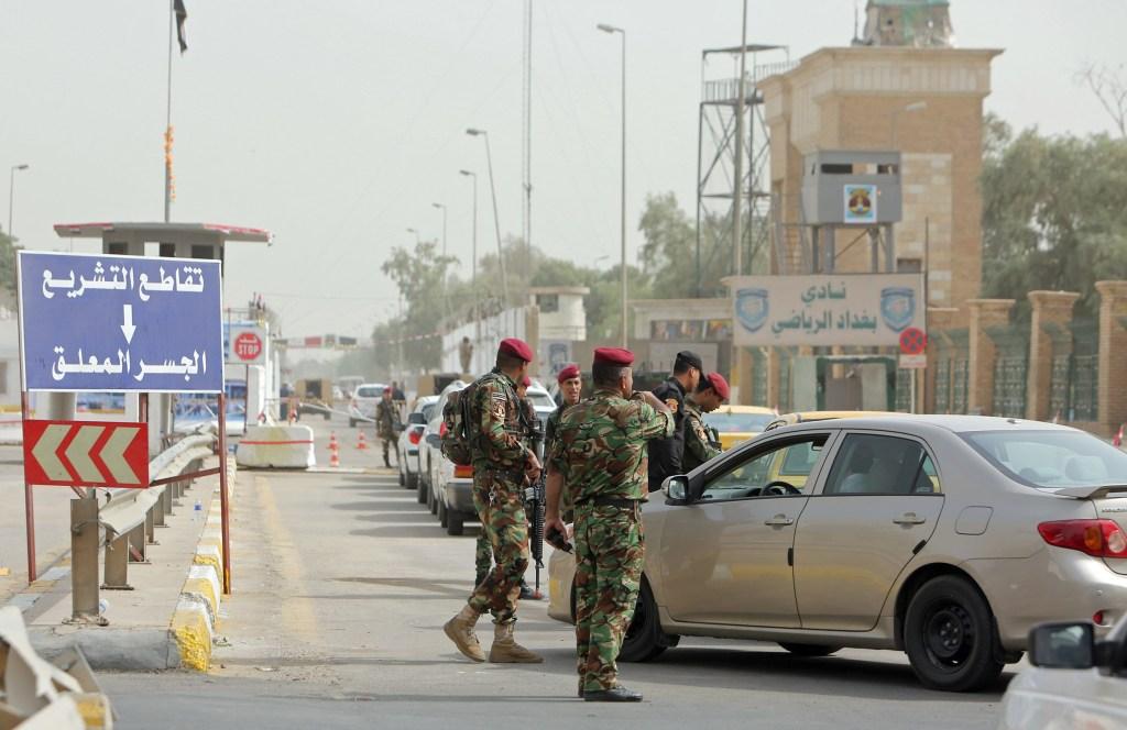 Image: IRAQ-SECURITY-TRAFFIC-SOCIETY-SOCIAL