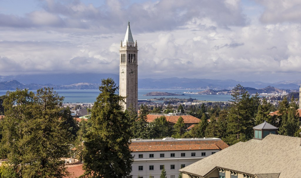 Campanile at the University of California at Berkeley