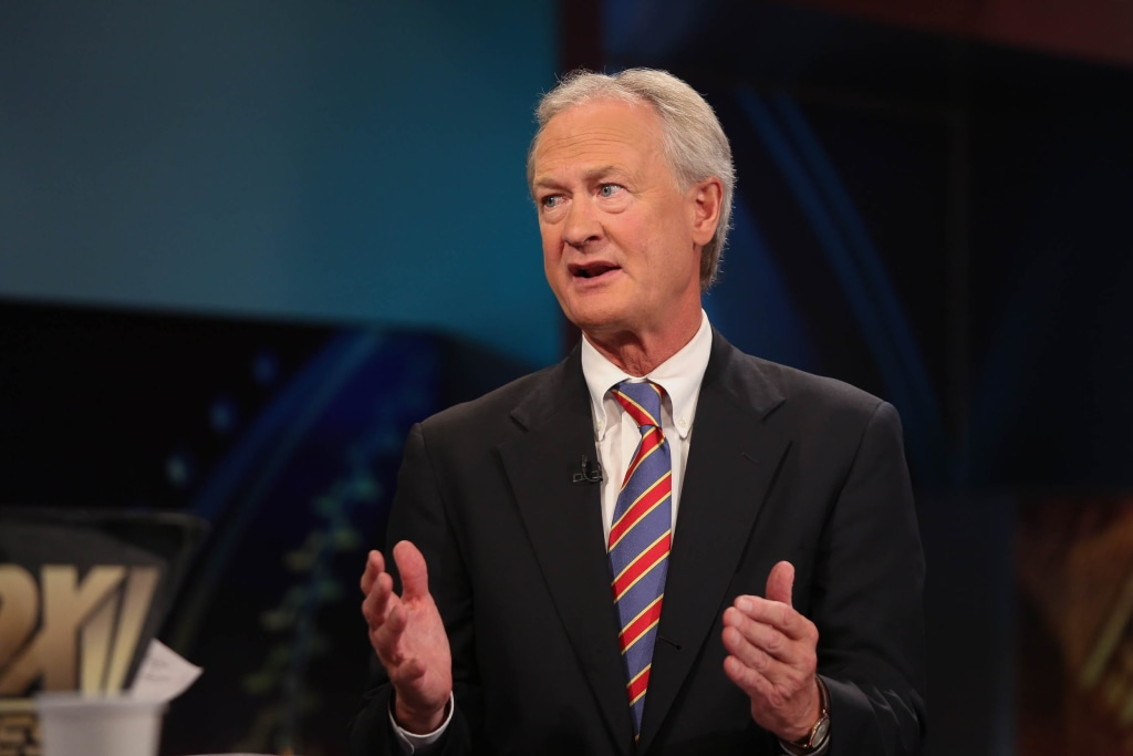Image: Lincoln Chafee Visits FOX Business Network