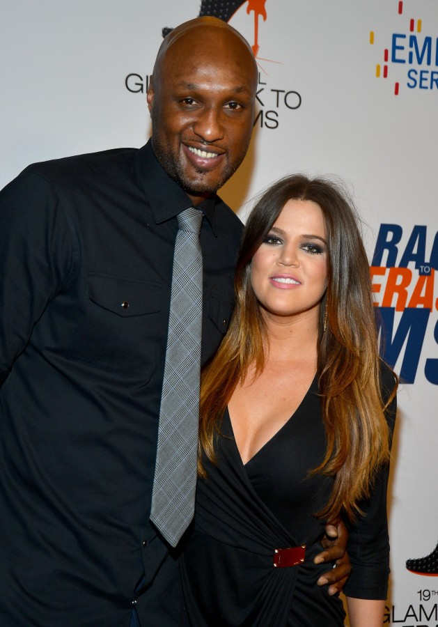 Image: Lamar Odom and Khloe Kardashian