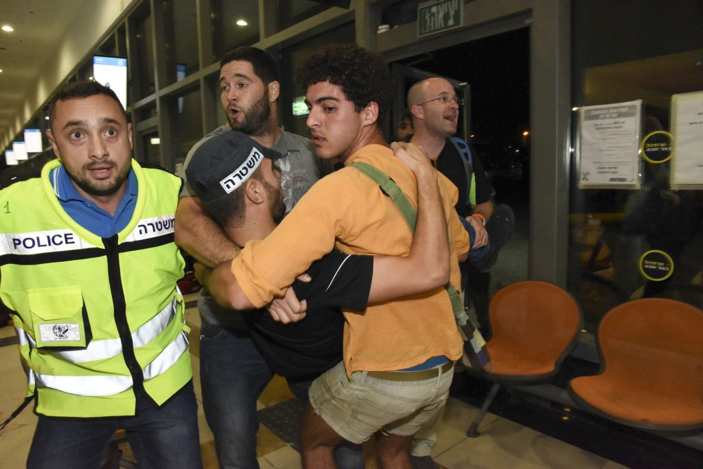 Image: More deaths reported in Israel as brief respite from killing ends