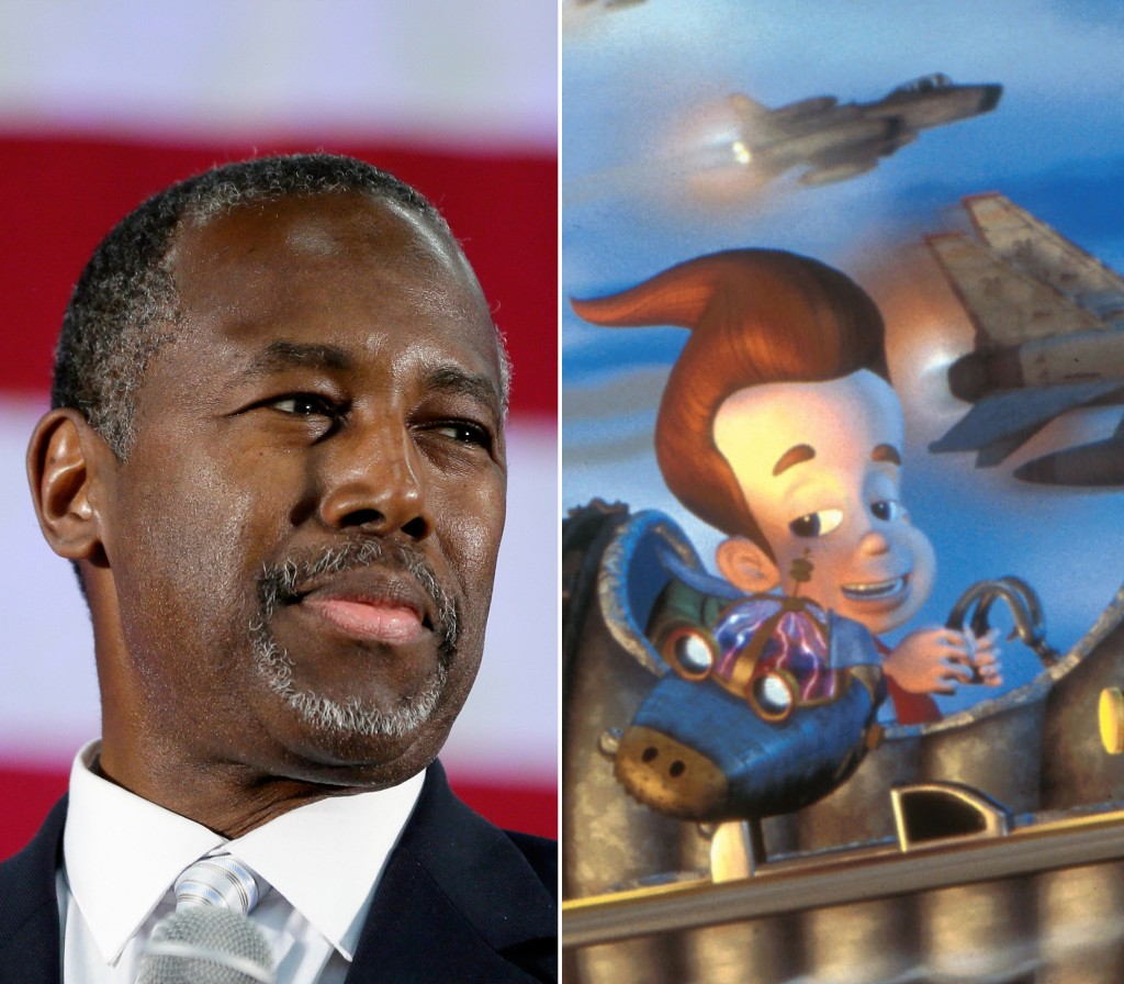 Image: Ben Carson and Jimmy Neutron