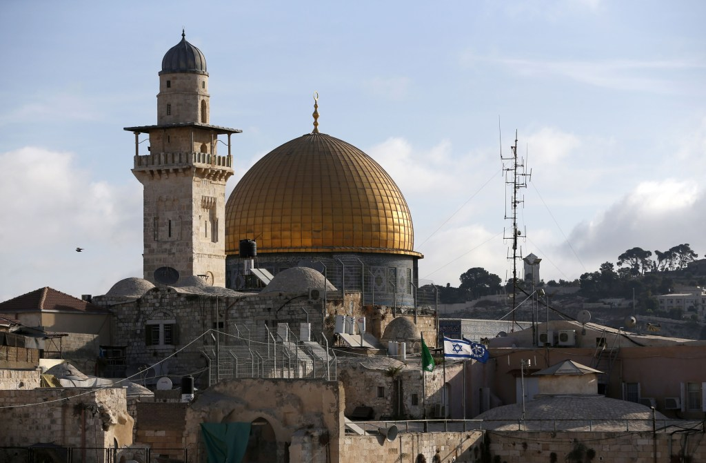 Image: The Dome of the Rock mosque