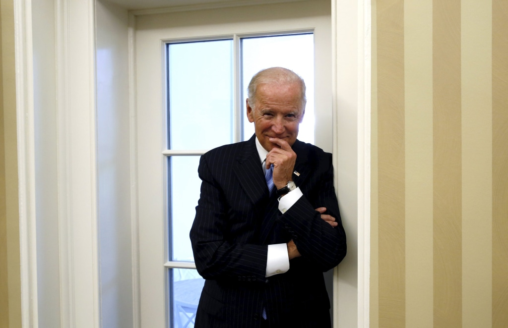 Image: Vice President Joe Biden in the Oval Office