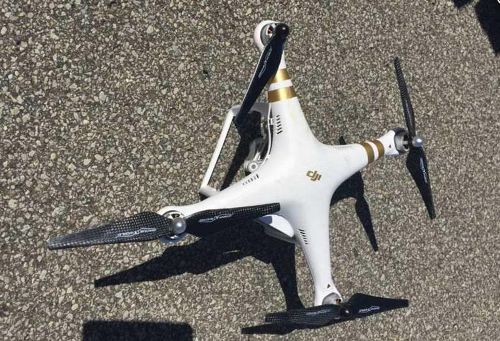 Image: David Boggs' drone