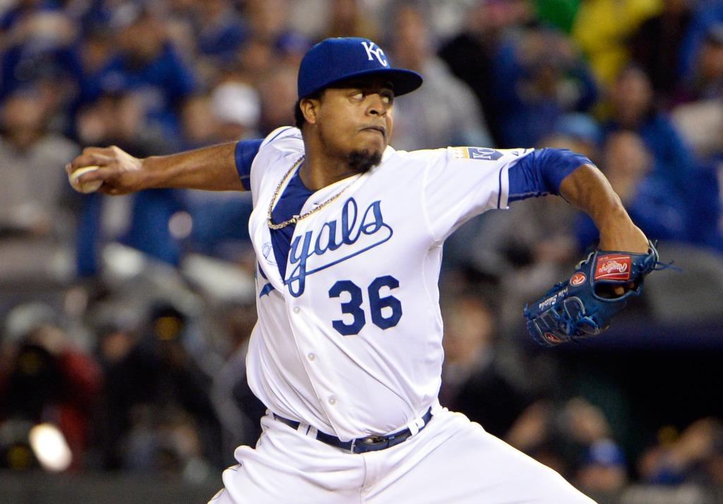 Image: MLB: World Series-New York Mets at Kansas City Royals