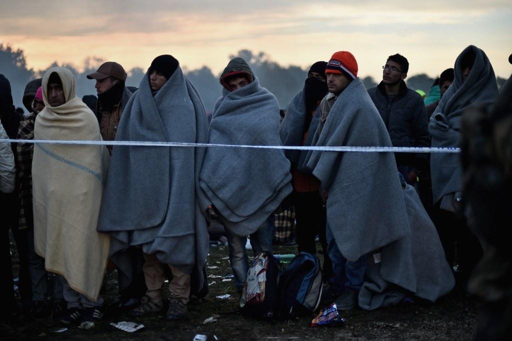 Image: Migrants Cross Into Slovenia