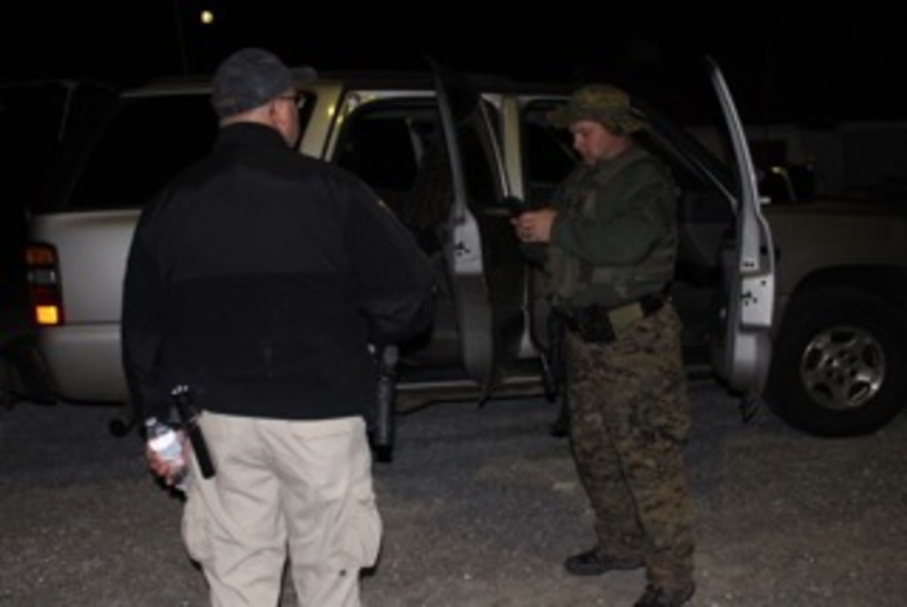 Image: The manhunt came to an end near Burkesville, Kentucky