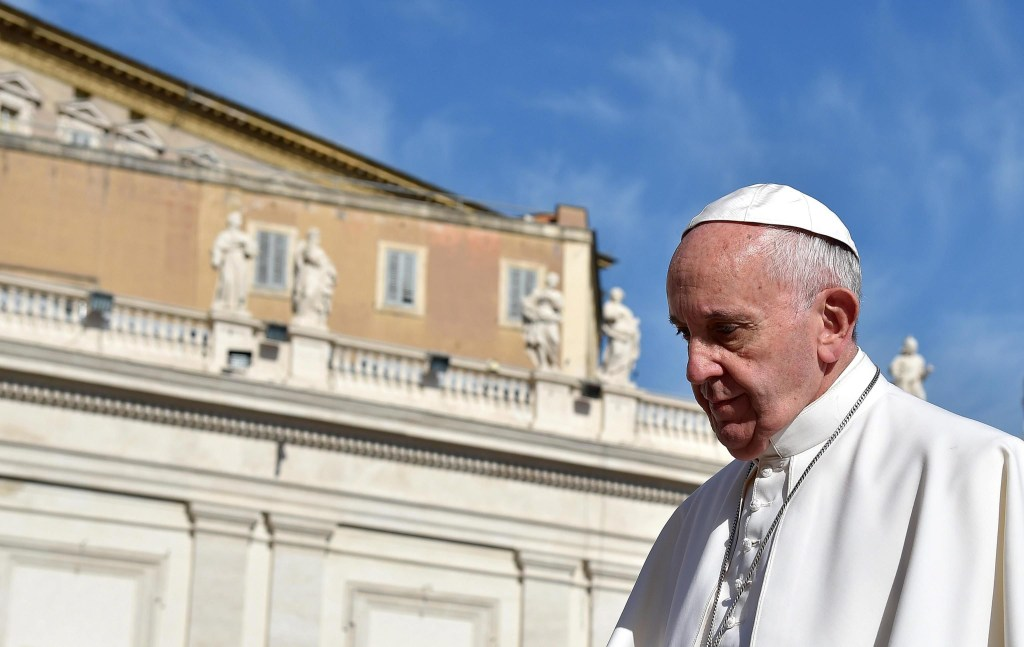 Image: Tito Boeri at Pope Francis' audience
