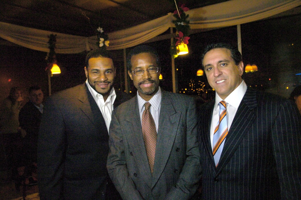 Ben Carson, Al Costa, Jerome Bettis
