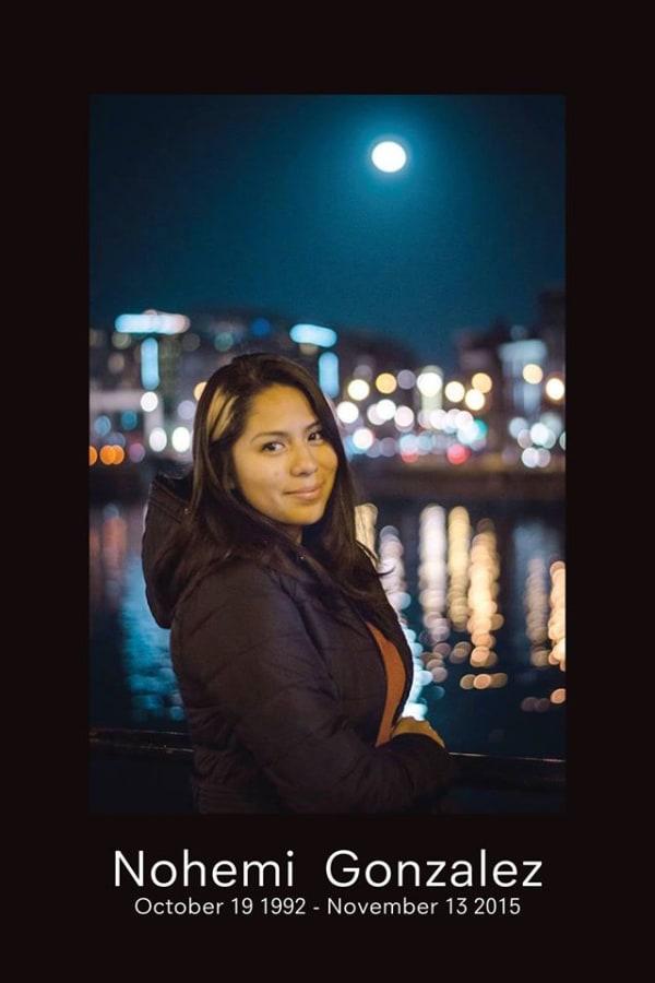 Image: Cal State Student Nohemi Gonzalez
