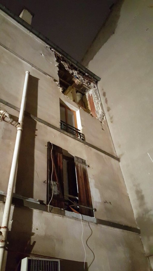 Image: Saint-Denis Apartment after raid