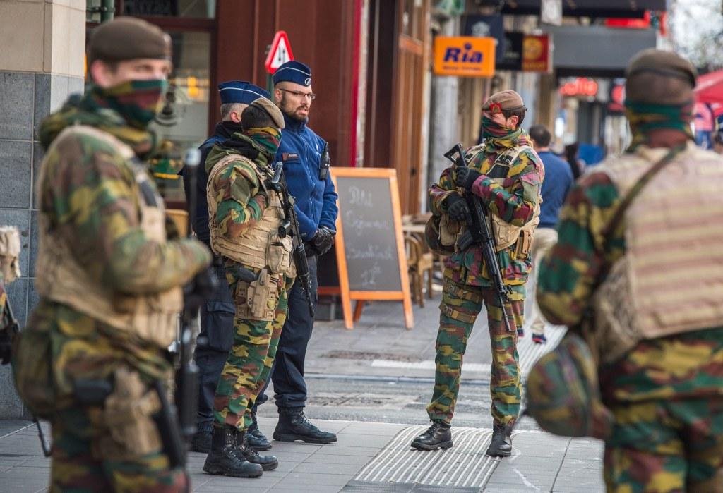 Image: Belgium security alert level raised to maximum