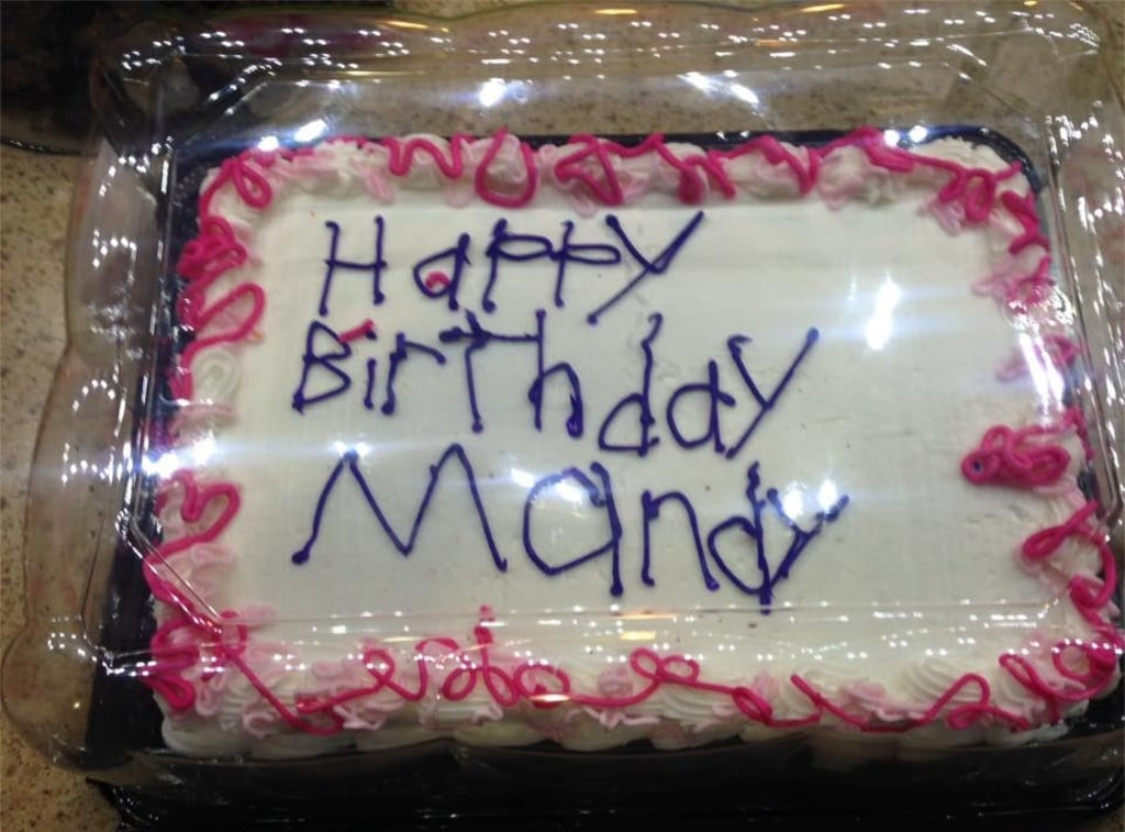 Birthday Cake Decorated By Employee With Autism Goes Viral