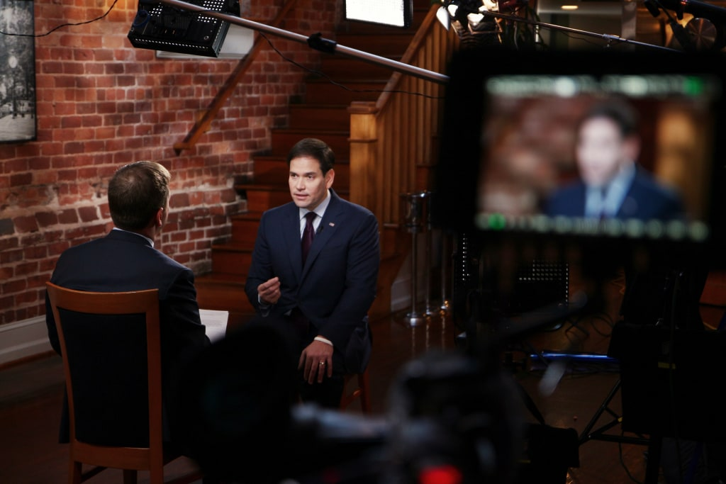 "Chuck Todd interviews Sen. Marco Rubio for ""Meet the Press"""