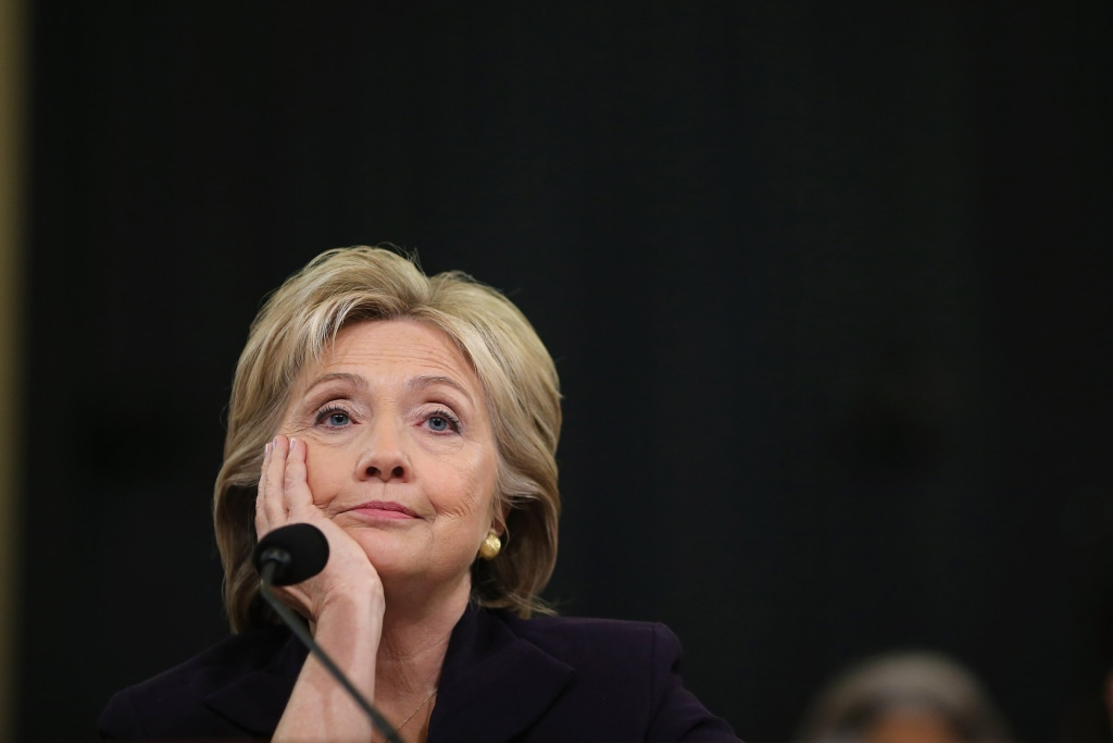 Image: BEST OF 2015 Hillary Clinton Testifies Before House Select Committee On Benghazi Attacks