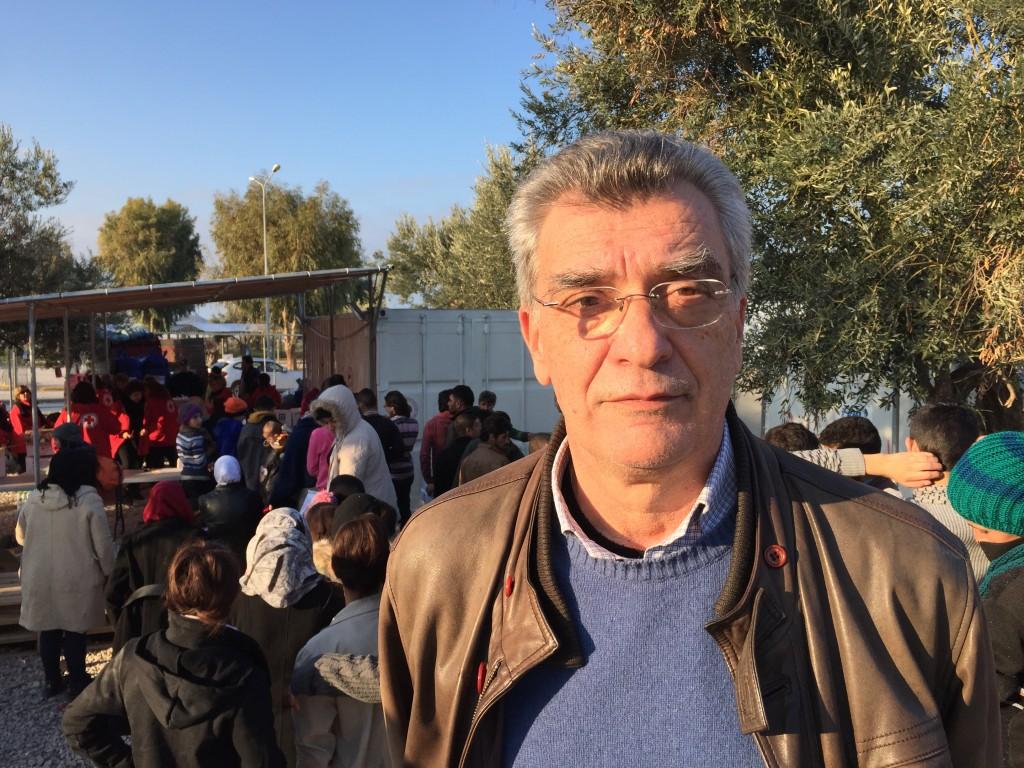 Image: Mytilene Mayor Spyros Galinos