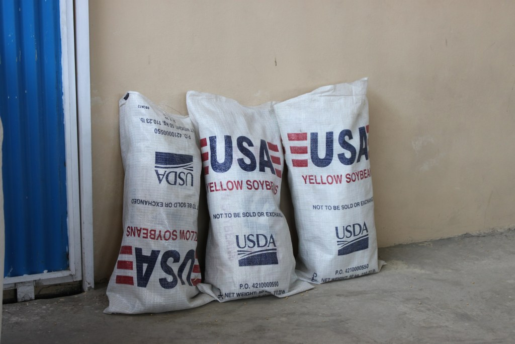 Image: USDA soybeans in Afghanistan