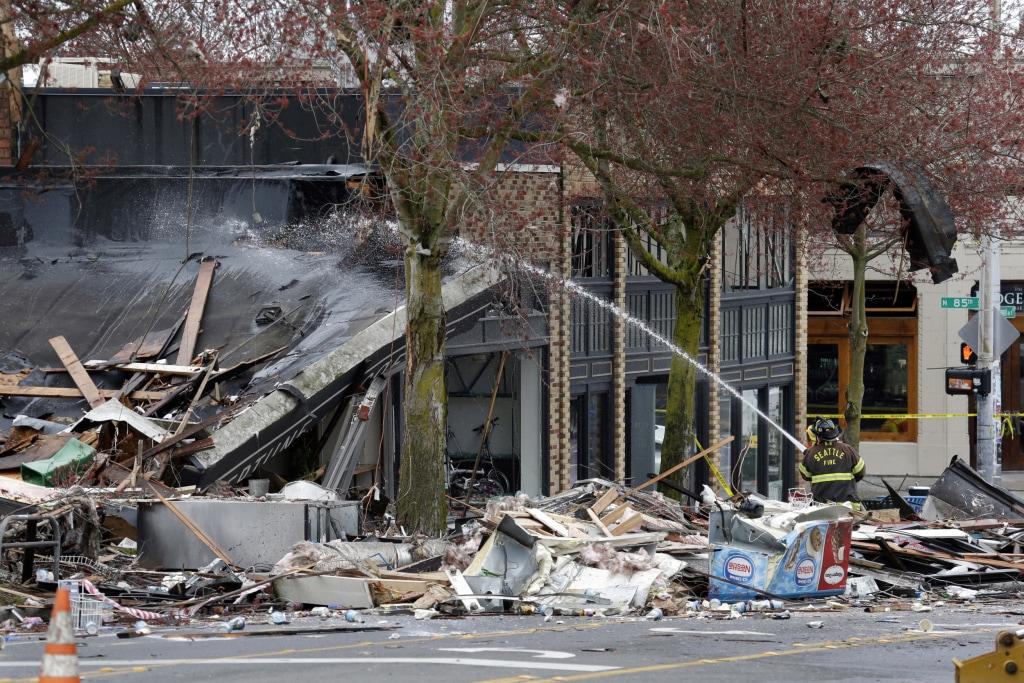 Image: Seattle Explosion
