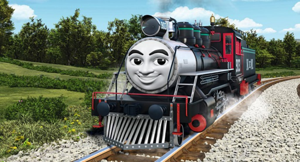 Image: Carlos, a new character in the 'Thomas the Tank Engine' series by Mattel.