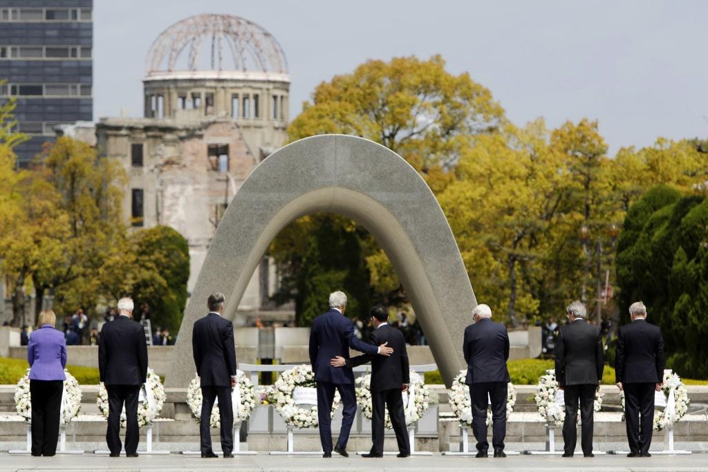 Image: Secretary of State John Kerry in Hiroshima