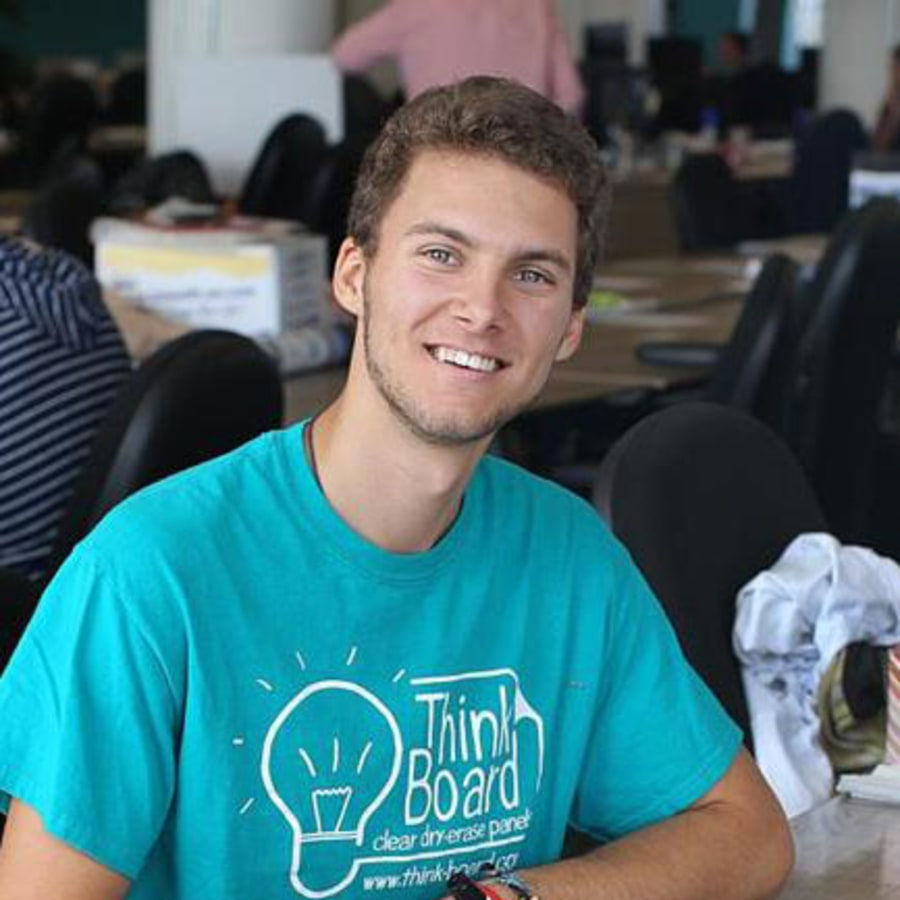 Hanson Grant, 21, is revolutionizing classrooms in Haiti