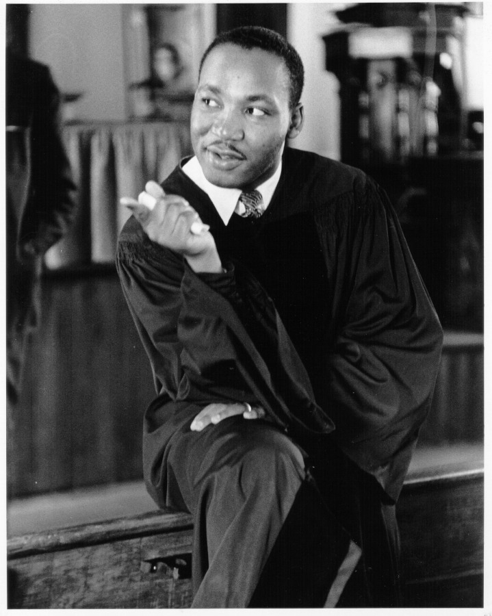 Image: Martin Luther King, Jr., in 1956