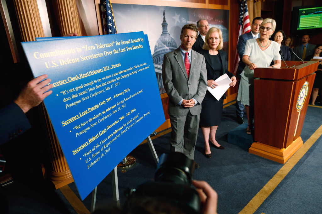 Image: Kirsten Gillibrand, Rand Paul, Ted Cruz, Barbara Boxer, Chuck Grassley