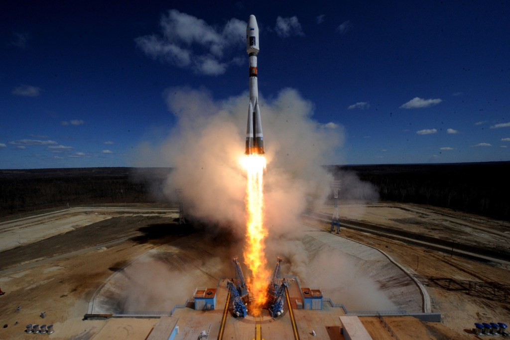 Image: Rocket lifts off from Vostochny Cosmodrome