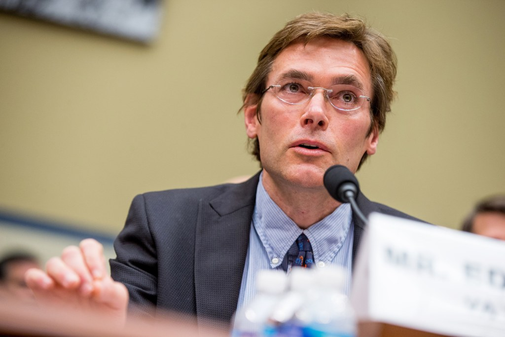 Image: Marc Edwards testifies before the House Oversight and Government Reform Committee