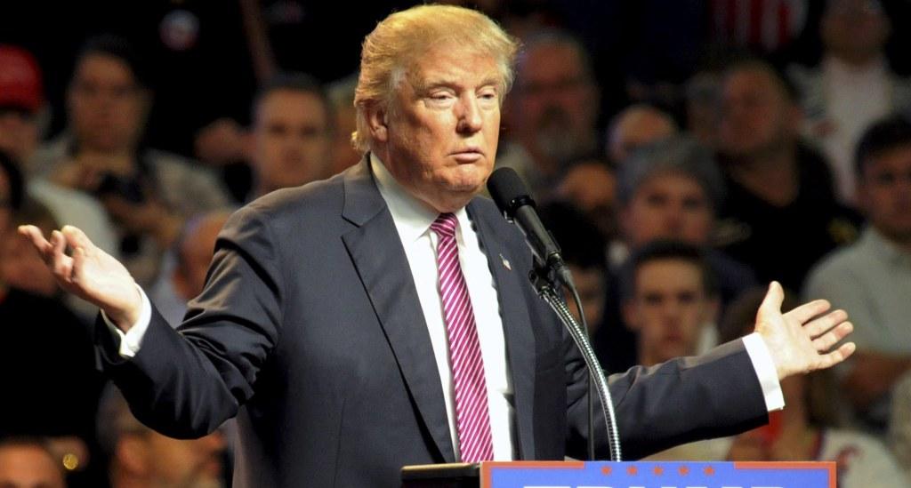 Image: U.S. presidential candidate Donald Trump
