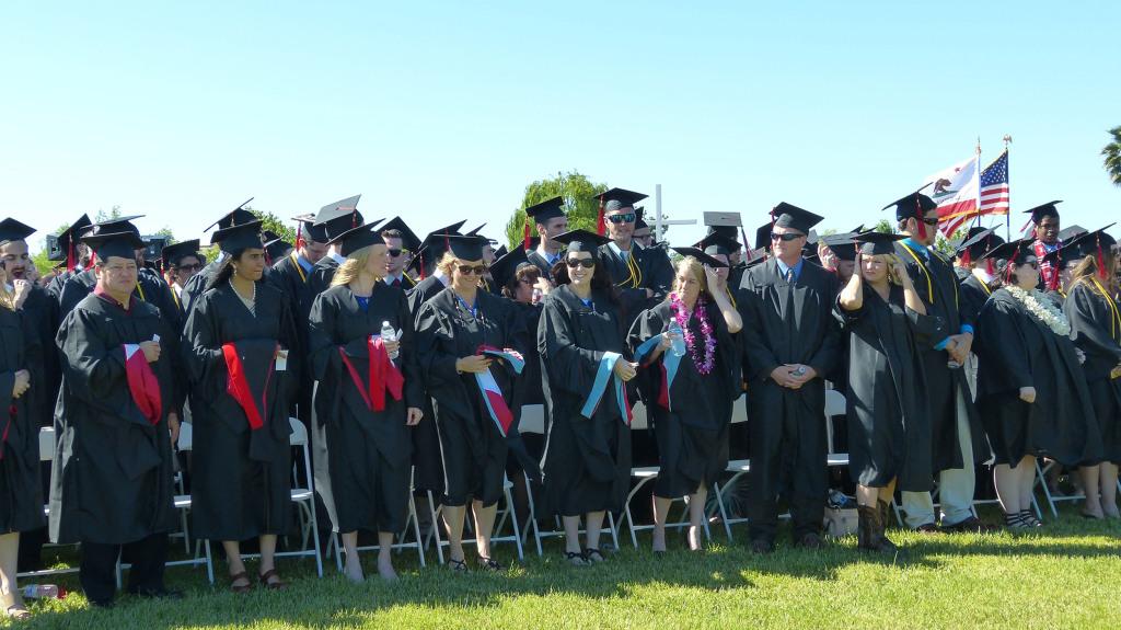 IMAGE: Simpson University students graduate 2016