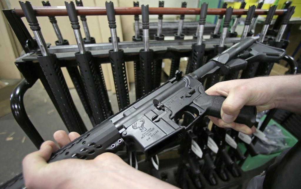 IMAGE: AR-15 semiautomatic rifle