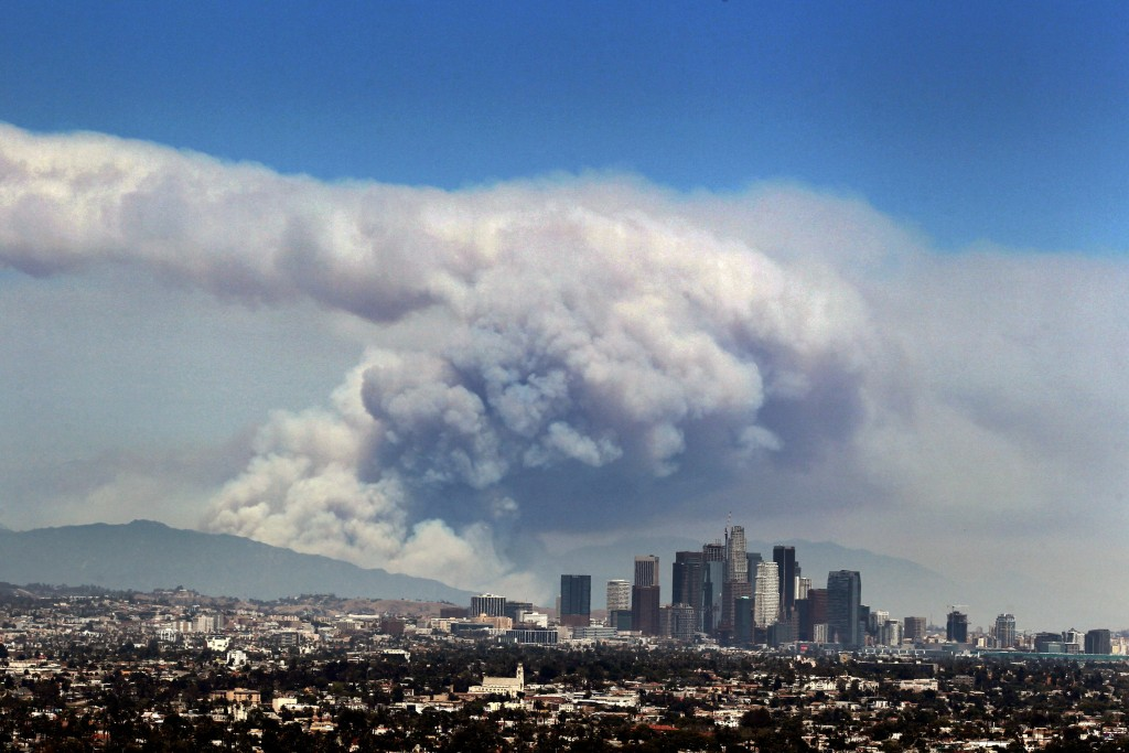 Image: Los Angeles fire