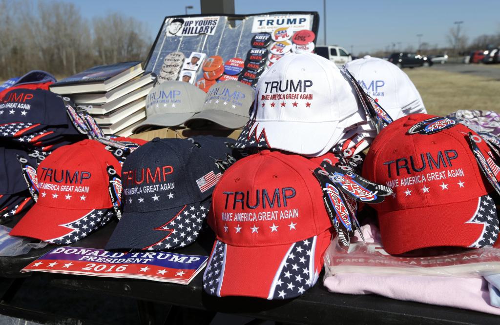 Image: Trump campaign hats