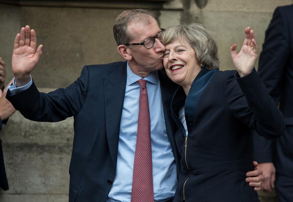 Image: Philip  May and Theresa May